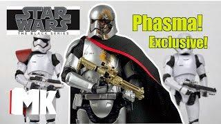 Star Wars The Black Series Captain Phasma (Quicksilver Baton) Review