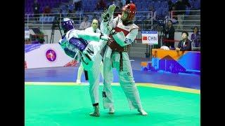 Female-57kg Round of 16 |  Lijun ZHOU( CHN) VS YU-CHUANG CHEN( TPE)
