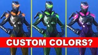 "NEW OBLIVION SKIN ""GIRL OMEGA"" IN FORTNITE - CAN WE CHANGE COLORS (Custom Colors)"