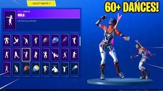 Fortnite *NEW* DYNAMO Skin with 60+ Emotes/Dances!