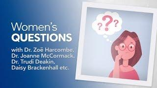 Women's questions (intro to the series)