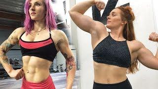 Female Bodybuilding vs. Powerlifting - How We Train