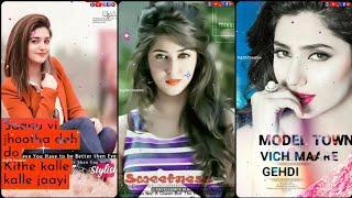 Lamborghini ???? (Female) ???? Punjabi Fullscreen WhatsApp Status Video ???? Female Love Full Screen