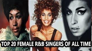Top 20 Female R&B Singers of All Time