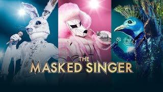 The Masked Singer S01E05 Mix and Masks