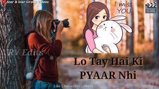 Mana ki hum Yaar nhi | Female | Sad WhatsApp Status Video | RV Edits