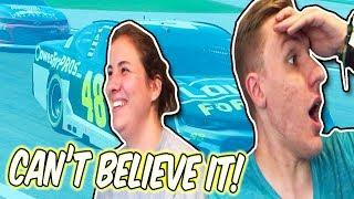 THE FIRST FEMALE CUP SERIES WINNER?!? // NASCAR Heat 3 Racing w/ GF Jess