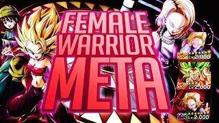 Female Warriors JUST BROKE THE GAME! DB Legends 498% Caulifla & Kale Team