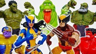 Wolverine And Female Wolverine, Fight Against Thanos~! - ToyMart TV