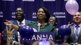 Ayanna Pressley Is First Black Woman To Win Massachusetts Primary | The View