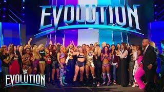 The Women's Division celebrates historic night with Ronda Rousey: WWE Evolution 2018 (WWE Network)