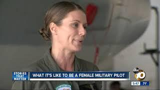 What it's like to be a female military pilot