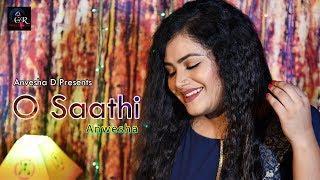 O Saathi Female (Cover) || Anvesha D || Baaghi 2 ||