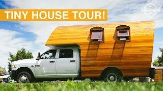 Tiny House Festival Tour - Colorado USA Van Life Series