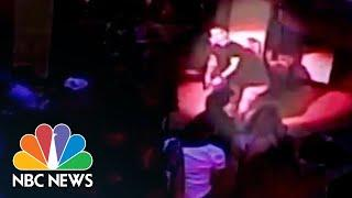 5-Foot-1 Woman Floors Nightclub Bouncer After Slap On Backside | NBC News