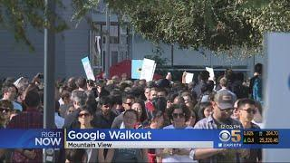 Hundreds Of Google Employees Walk Out To Protest Treatment Of Women