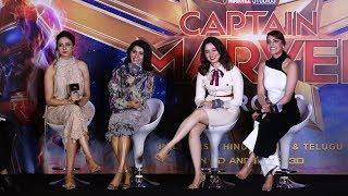 Tamannaah, Kajal Aggarwal, Rakul Preet, Samantha talks about female super hero | CAPTAIN MARVEL