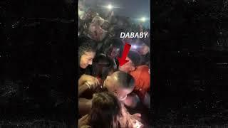 Da baby security guard knocks a female stone cold out ! ????