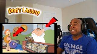 PETER KNOCKS OUT FEMALE CUSTOMER - Family Guy Try Not To Laugh Challenge #14