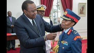 UHURU KENYATTA MAKES HISTORY BY APPOINTING THE FIRST KENYA'S FEMALE MAJOR GENERAL FATUMA AHMED