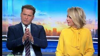 Australian TV Host Sticks Up For Cyclists - Female Hosts Look Perplexed (2018)