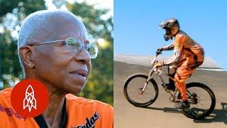 She's the Oldest Female BMX Racer in the U.S.