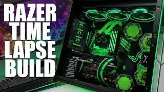 Ultimate RAZER Build & Setup (Ft. O11 Dynamic RAZER Edition)