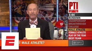 Who should win ESPYS Male and Female Best Athlete Award? | Pardon the Interruption | ESPN