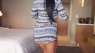 Hot Female Walking In Hotel Room - Body Show