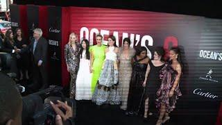 All female Ocean's 8 premieres in New York City
