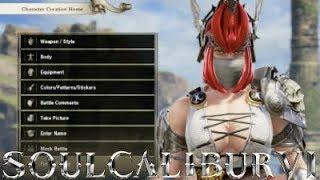 Soul Calibur 6 - Character Customisation Female Human Creation