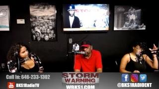 THE STORM WARNING  SHOW -  ALLURE FEMALE RAP SEARCH CALL IN 646-233-1302