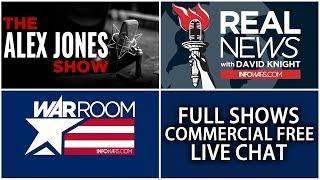 ???? All Shows From Today Commercial Free ► Alex Jones Infowars • Monday 6/4/18