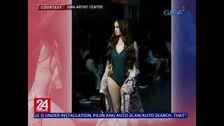 24 Oras: Summer-ready body ng Kapuso Stars, ibinida sa fashion show ng isang Pinoy clothing brand
