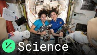 First All-Female Spacewalking Team Christina Koch and Jessica Meir Make History