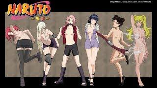 The Top 10 Hottest Girls Of Naruto
