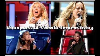Unexpected Vocals Improvising By Female Singers