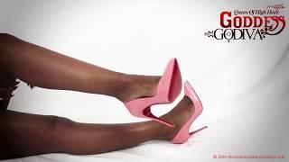Pink Louboutin Pigalle High Heel Tease -High Heel Fetish Videos - High Heel Domination -  Femdom
