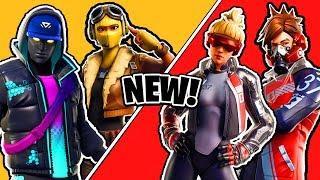 NEW Fortnite Skins LEAKED! New female Raptor,  New John Wick Skins & More!