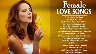 The Best Female Love Songs Collection - Greatest Beautiful Love Songs Of All Time