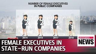 Only one female executive in state-run enterprises: Report