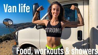 FEMALE VAN LIFE | Fitness, Showers and What I Eat