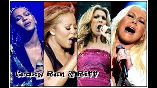 Crazy Vocals Runs & Riffs By Female Singers
