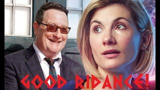 The Empire has fallen: Jodie Whittaker and Chris Chibnall are leaving Doctor Who. (Proof)