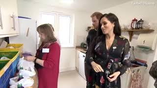 Harry were making up food parcels to be handed out to female sex workers when the duchess was struck