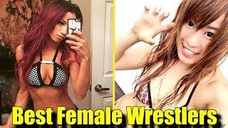 10 BEST FEMALE WRESTLERS In The WORLD RIGHT NOW! (2018) - Sasha Banks, Io Shirai & More!