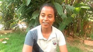 Sanki:Female Referee in Blind Football from ShillongMeghalaya speaks out