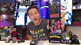 DC Comics HeroClix Batman the Animated Series Unboxing Part 2