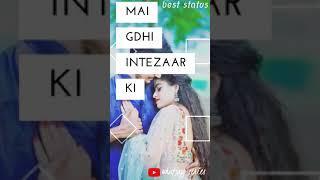 Dhadkk (Female version) || Full Screen stauts video || whatsapp series