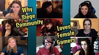 Why Siege Community Loves Female Streamers - Rainbow Six Siege